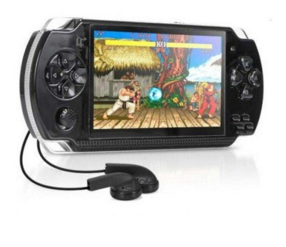 Game Portátil Mini Tipo Psp 10000 Jogo Ebook Mp3 Rádio Tv Fm