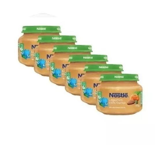 Papinha Nestlé Carne Legumes E Mandioquinha 12 Potes Atacado