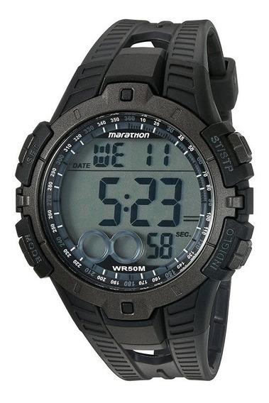 Reloj Marathon By Timex T5k802 Digital Indiglo Original Nuev