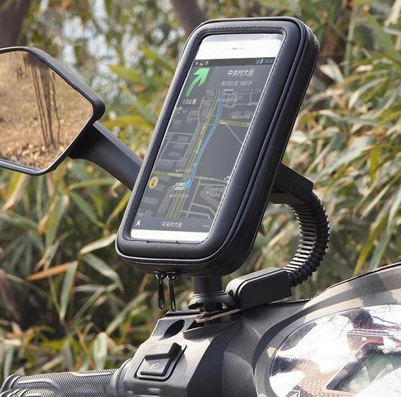 Suporte De Celular Para Moto Led Burgaman Pcx 150 Honda