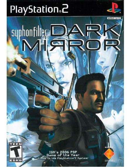 Original Syphon Filter Dark Mirror Ps2