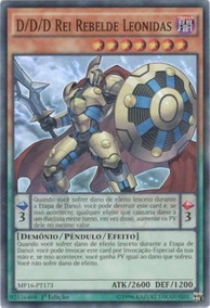 D/d/d Rei Rebelde Leonidas(mp16-pt173)+card Brinde!!