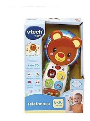 Imagen 1 de 2 de Vtech- Telefonoso Teléfono Interactivo De Juguete Multicolor