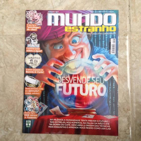 Revista Mundo Estranho Jan2011 Ed.107 Desvende Seu Futuro