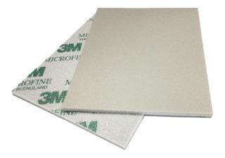 Esponja Abrasiva 3m Micro Lixa Automotiva Fina 139x114mm