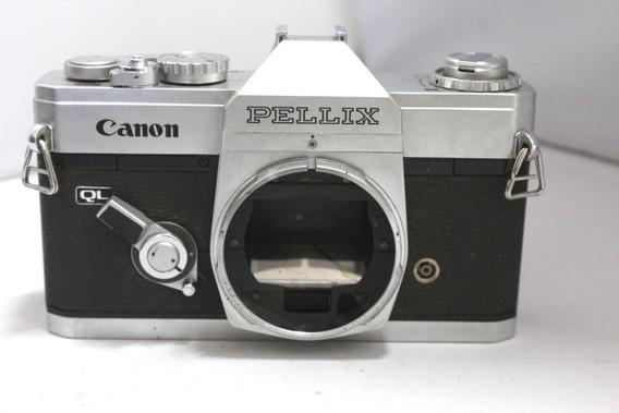 Câmera Fotografica Canon Pellix Retro Coleção Leia Anuncio
