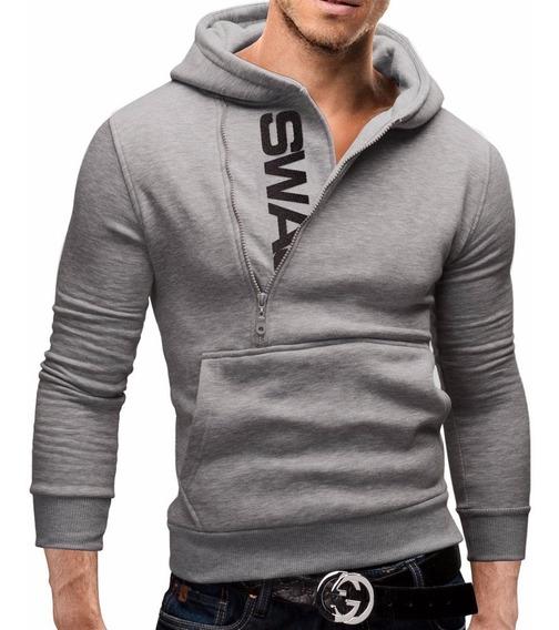 Casaco Swag Masculino Blusa De Frio Moletom Moleton Slim
