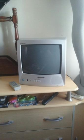 Tv Panasonic 14 Polegadas Modelo Panablack