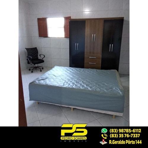 Ótima Casa Em Camboinha 3 Qts Sendo 2 St À, 360 M²  À Venda Por R$ 300.000 - Camboinha - Cabedelo/pb - Ca0294
