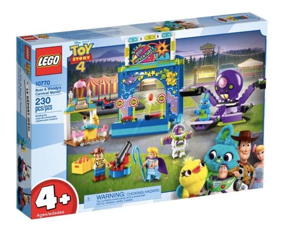 Lego Buzz Y Woody Toy Story Locos Por La Feria 10770 Origina