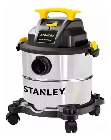Aspiradora Stanley Sl18116 Acero Inoxidable 23 Litros 1300w