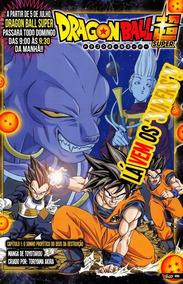 Mangá Dragon Ball Super Cap. 1 O Sonho Profético De Bills