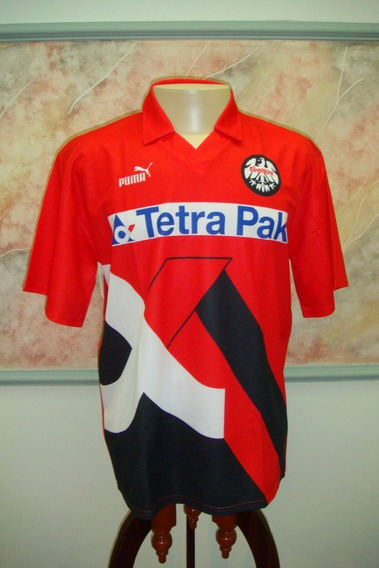Camisa Futebol Eintracht Frankfurt Alemanha Puma Antiga 342