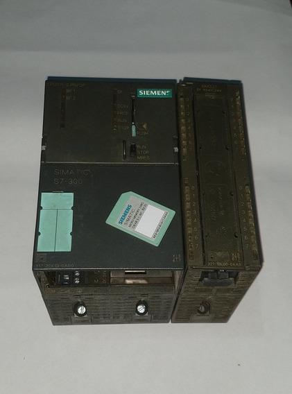 Plc Siemens +i/o +sd (o Mais Barato Do Ml Nesse Modelo).