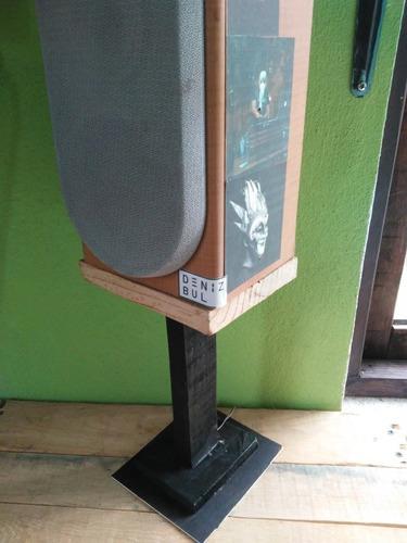 Torre Base De Madera Para Monitor De Audio