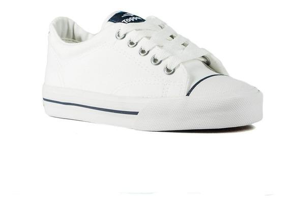 Zapatillas Topper Profesional Niños Blanco
