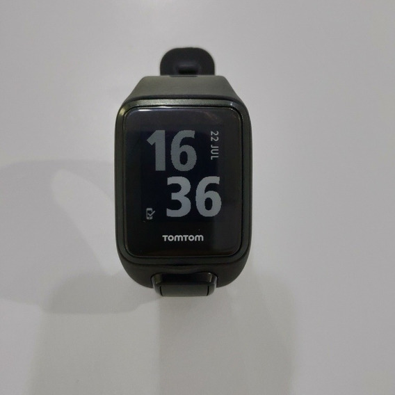 Relógio Gps Monitor Cardíaco No Pulso Tomtom Runner 3 Cardio
