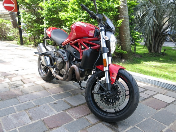 Ducati Monster 821 Impecable Con Accesorios. Única!