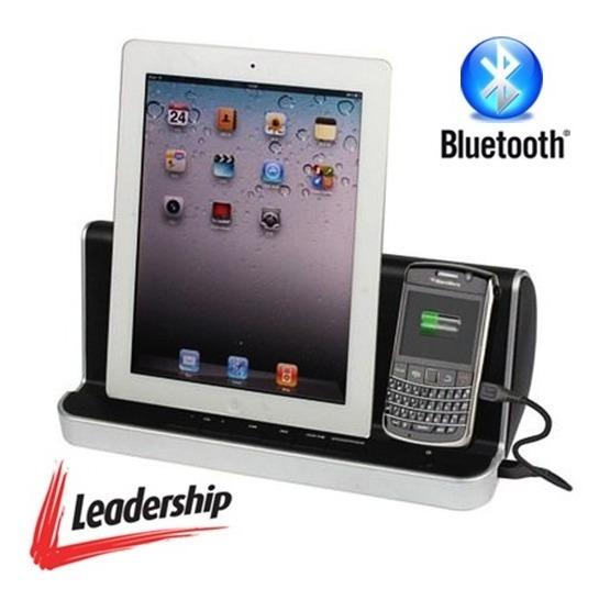 Dock Station Som C/ Bluetooth P/ iPhone, iPod, Celular