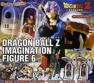 Dragon Ball Z Gashapon Set Imagination 6 Original Bandai
