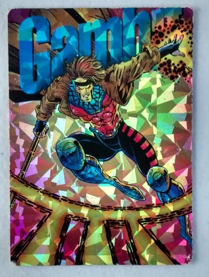 Tarjeta Carta Pepsi Cards Marvel Prisma Gambit