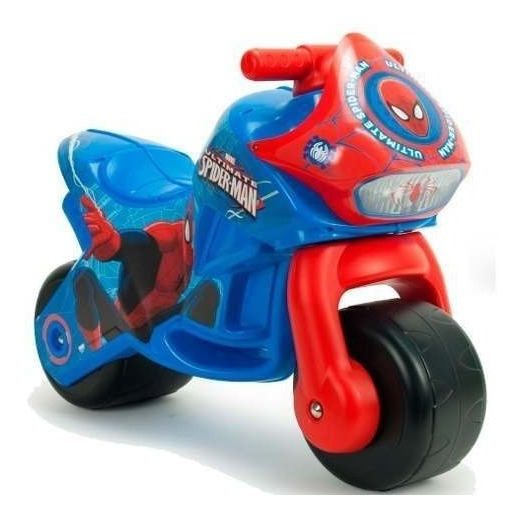 Montable Moto Corre Pasillos Infantil Twin Spiderman Injusa