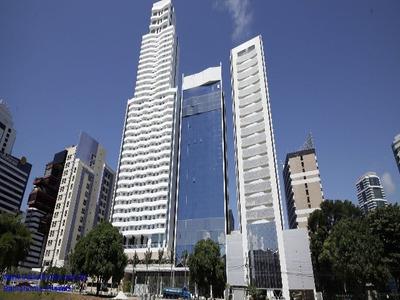 Sala Av. Tancredo Neves Com 60m² - Empresarial Mondial Ao Lado Do Shopping Salvado - Sa00014sh