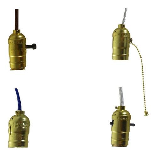 Sócate Para Bombillos Vintage E27 Lámparas Venezuela