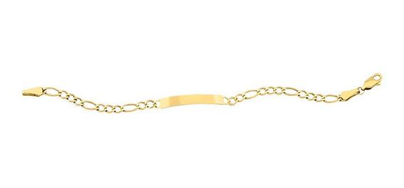 Esclava 3x1 Amarilla 14cm Oro 14k - 742