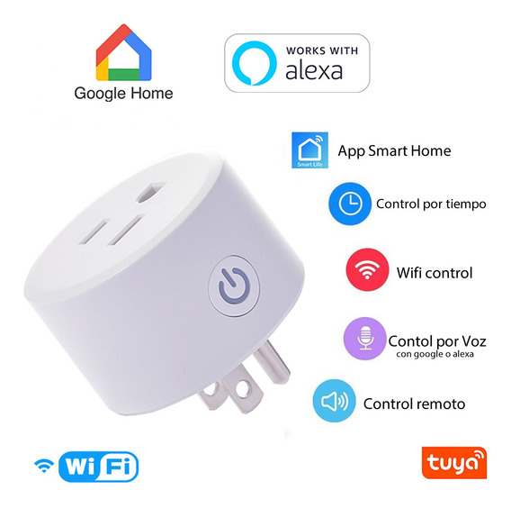 Enchufe Socket Inteligente Wifi Smart Plug Home Alexa