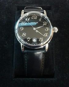 Relógio Montblanc Meisterstuck Steel Block Quartz 7072
