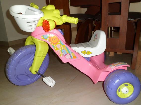 Triciclo Fisher-price Luces,sonidos Barbie Excelente Estado!