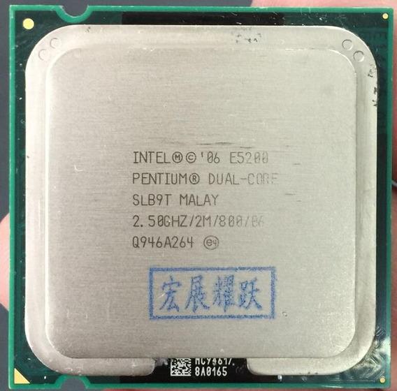 Processador Computador E5200 Intel Pentium Dual-core Cpu Lga