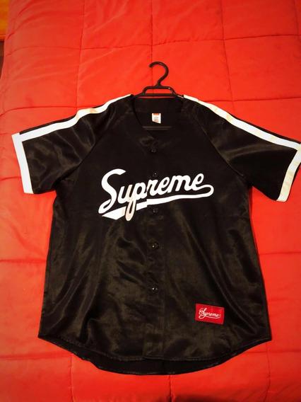 Supreme Camisa De Béisbol - Justin Bieber High Street
