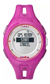 Relógio Gps Timex Feminino Run X20 Tw5k87400/ti - Rosa