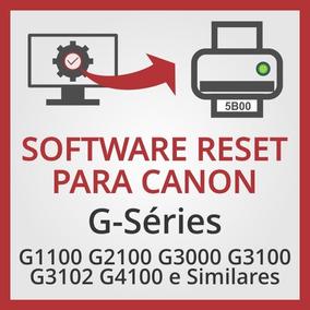 Software De Ajustes E Reset Para Canon G3100 E Similares