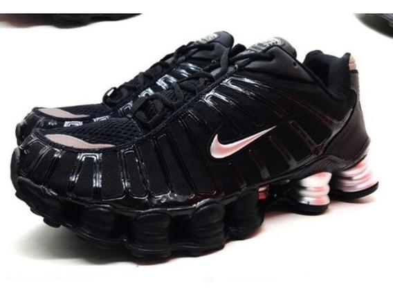 Tenis Masculino Nike Shox 12 Molas Lançamento Promoção 40