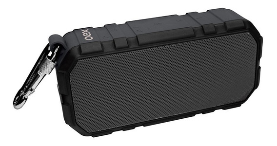 Caixa Som Brick Bluetooth 20w Rms Cinza Sk406 Recarrega Oex