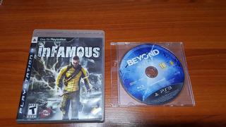Juegos Ps3 Playstation 3 Infamous 1 Beyond 2lq9