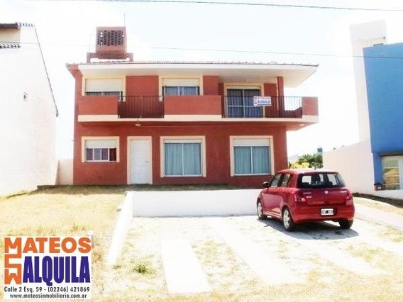Casa Frente Al Mar - Temporada 2020- Cost. 8675 Mar Del Tuyu
