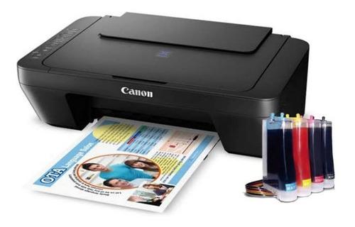 Impresora Canon E402 Con Sistema De Tinta Continua