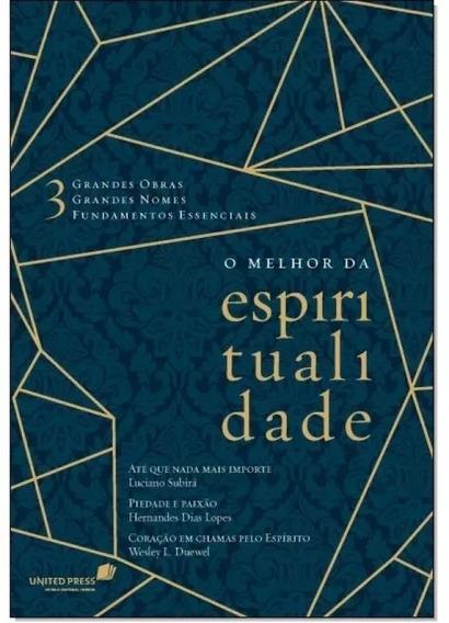 Livro Melhor Da Espiritualidade 3 Grandes Obras Capa Dura