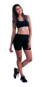Short Academia Feminino Cintura Super Grossa Suplex Fitness