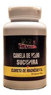 Canela De Velho Com Sucupira E Cloreto De Magnésio P.a. - 120 Cápsulas 500 Mg - Rei Terra