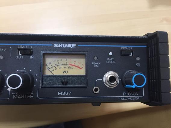 Mixer Shure M 367 6 Canais