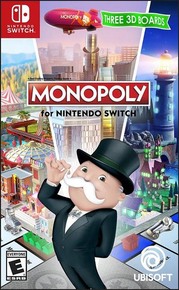 Monopoly - Switch - Pronta Entrega! Midia Fisica!!!