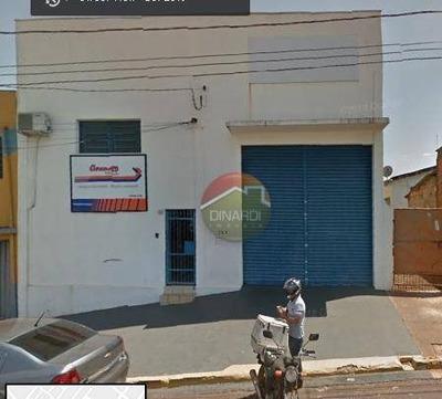 Galpão Comercial Para Locação, Jardim Zara, Ribeirão Preto. - Ga0512