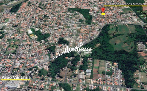 Terreno De Esquina À Venda, 640 M², Em Santa Felicidade - Curitiba/pr - Te0310