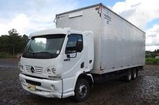 Mb Acelo 915 C Truck Cabine Leito Com Baú 7,40m