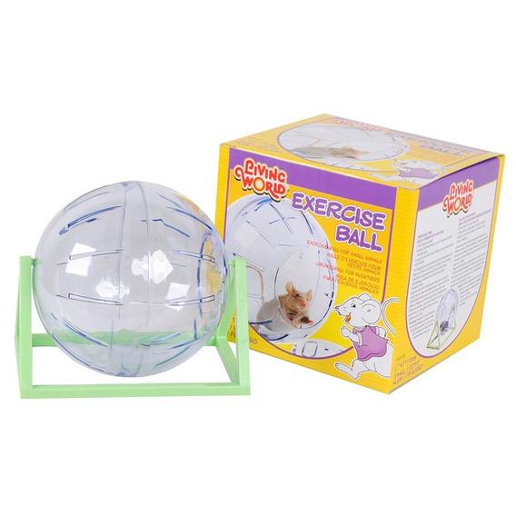 Bola De Exercício Chalesco Para Hamster Transparente - Tamanho P